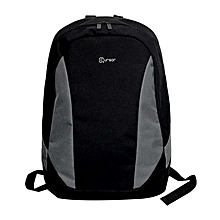 "LBB-6800 - Laptop Backpack Bag - 15.6"" - Black & White"