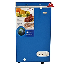 NX 150C - 95 Litres - Chest Freezer-Blue