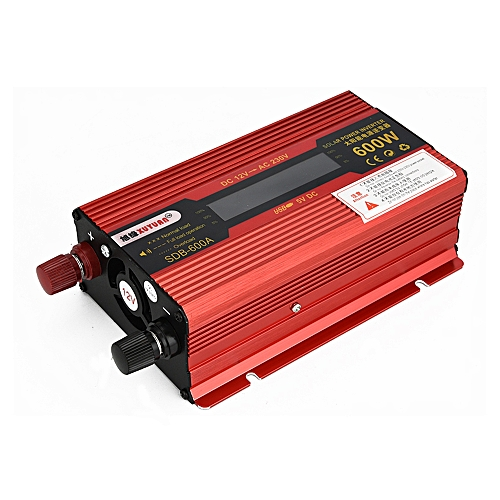Usædvanlig XUYUAN 600W DC 12V To AC 230V Solar Power Inverter Car Automotive JW37