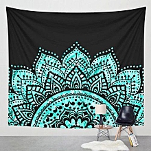 Wall Hanging Tapestry Table Cloth Bedspread Beach Towel Mat Blanket Table Decor-Green