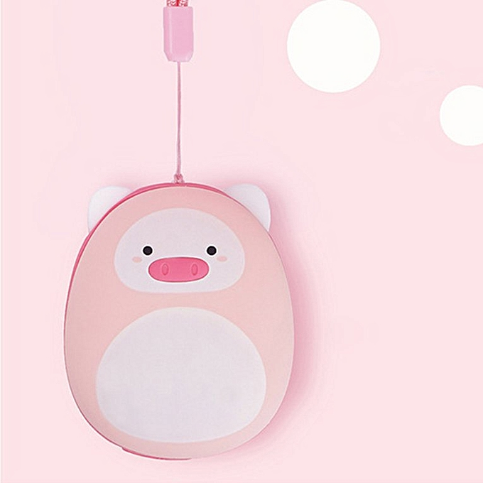 0f1ce3d8fa ... HP Cute mini USB charging with mobile power beauty year pig warm ...