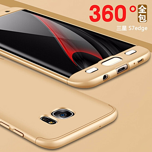 size 40 d194b d35ae Samsung Galaxy S7 Edge GKK 360 Degree Protection Hybrid Case Cover Casing  312738 Color-2 - Neutral