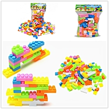 70 Pcs Plastic Building Blocks City DIY Creative Bricks Toys For Children Kids Building Block Bulk Brick Educational Puzzle Toy Model Building Kits