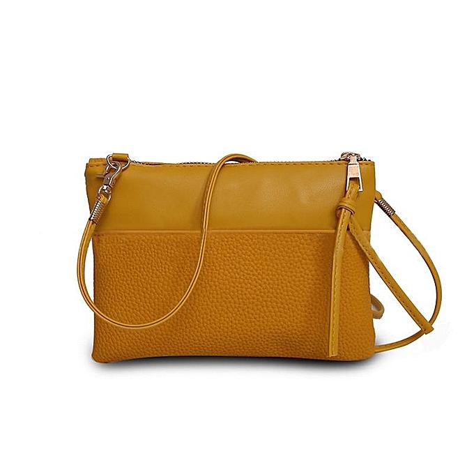 The new 2016 han edition fashion female bag shoulder bag inclined shoulder  bag handbag ... a7e5ce6d3cfc6