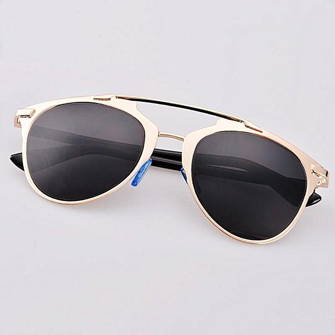 Buy Sunshine Hot Fashion Retro Women Lady Dual Horizontal Beam Full ...