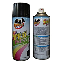 Spray Paint Black Matt - 450ml