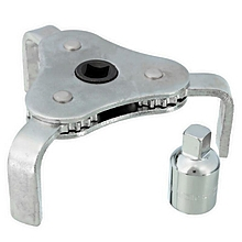 2 Ways Oil Filter Wrench Remover 3 Leg 2-1/2'' to 4'' Drive Removal Filters Tool