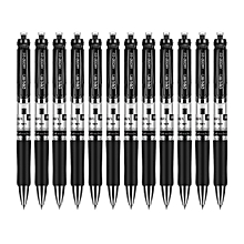S01 0.5mm Gel Ink Pen Students Stationery - Black