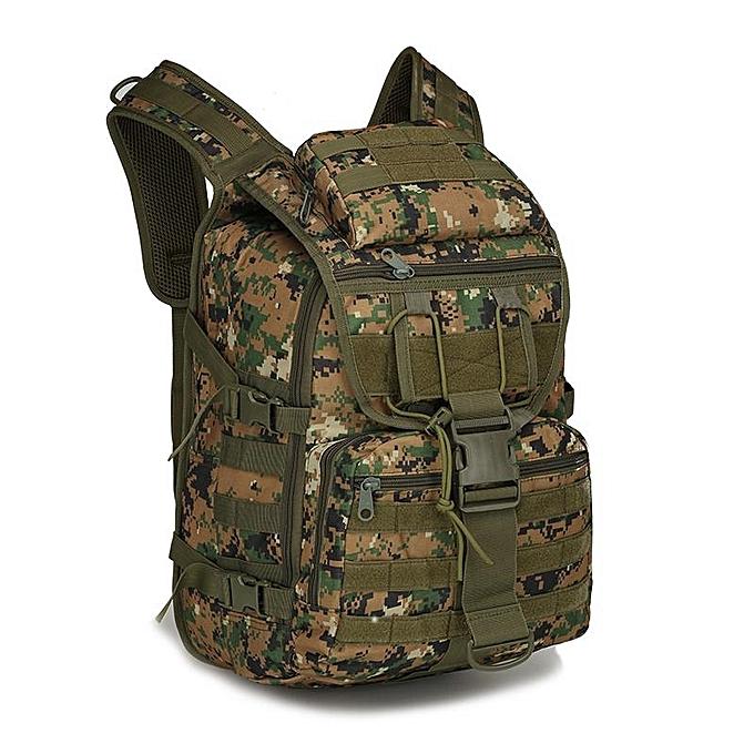 Army fan shoulder tactical assault bag waterproof outdoor hiking trekking  backpack men s X7 swordfish bag 3271439c0482a