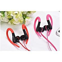 Bluetooth Headsets, New Sport Bluetooth Headphones ST-005 Stereo Headset Ear Hook Earphone(Pink)