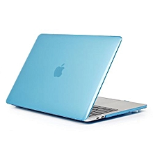 "15"" Pro (USB-C Port) Case, Crystal Hard Rubberized Cover For 2016-2018 Macbook 15.4 Pro With Touch Bar, Light Blue"