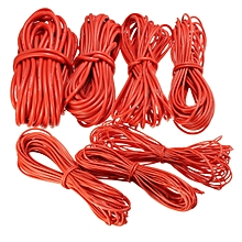 DANIU 10 Meter Red Silicone Wire Cable 10/12/14/16/18/20/22AWG Flexible Cable 20AWG