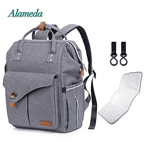 JF Alameda Fashion Mummy Bag Multi-function Diaper Bag Backpack ... 574cf9f0d8811
