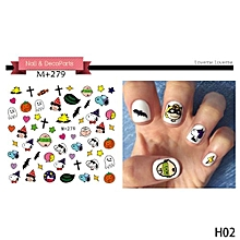 Fancyqube  New Watermark Beautiful Fashion Nail Stickers Decoration For Women Girl