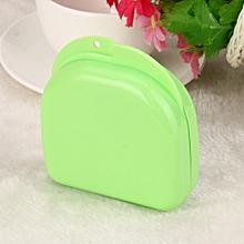 Denture Bath Appliance  False Teeth Box Storage Case Rinsing Basket