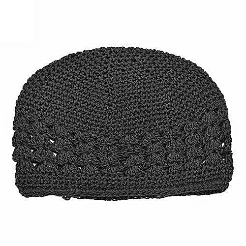 Bluelans Newborn Baby Girl Kids Cute Crochet Hat Black   Best Price ... e822fea677c