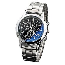 Men's Stainless Steel Watch- Silver.
