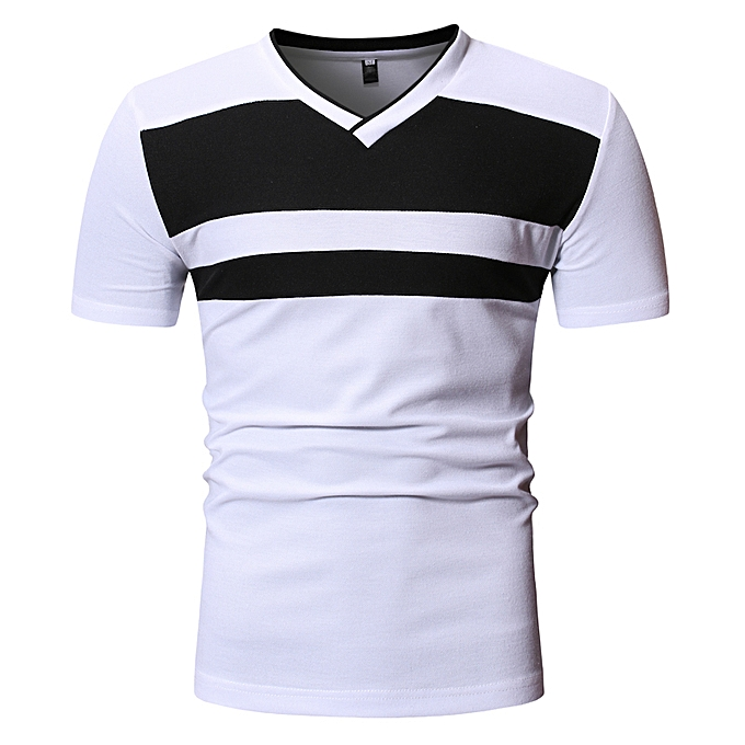 02f7f3cc14 New Arrivals Cotton Men T Shirt - White
