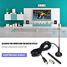 Universal Indoor HD Antenna Vertical Dual Antenna TV Antenna For ATSC/DVB-T/DVB-2/ISDB