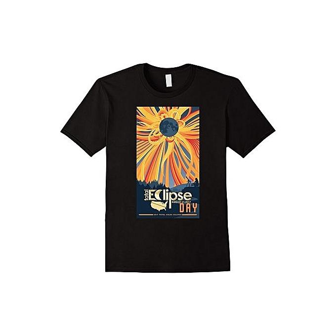 Generic Total Solar Eclipse Tshirt August 21 2017 Sun Eclipse Mens