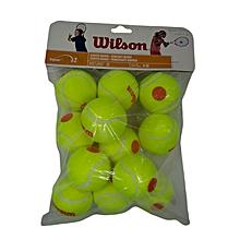 Tennis Ball Starter Orange Pkt Of 12: Wrt137200: Wilson