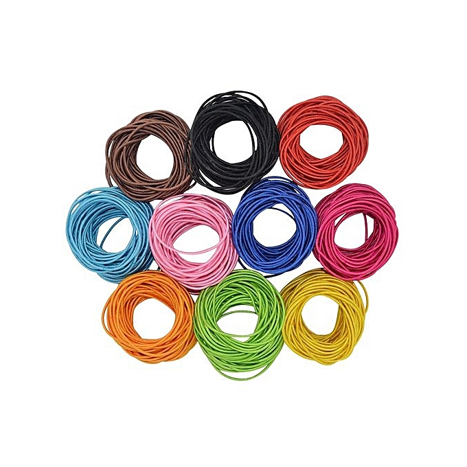 100pcs Women Elastic Hair Ties Band Ropes Ring Ponytail Holder Accessories ce81b108c13