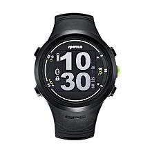 Spovan Runner GPS Waterproof Wrist Watch Sports Marathon Bluetooth Heart Rate Monitor Pedometer