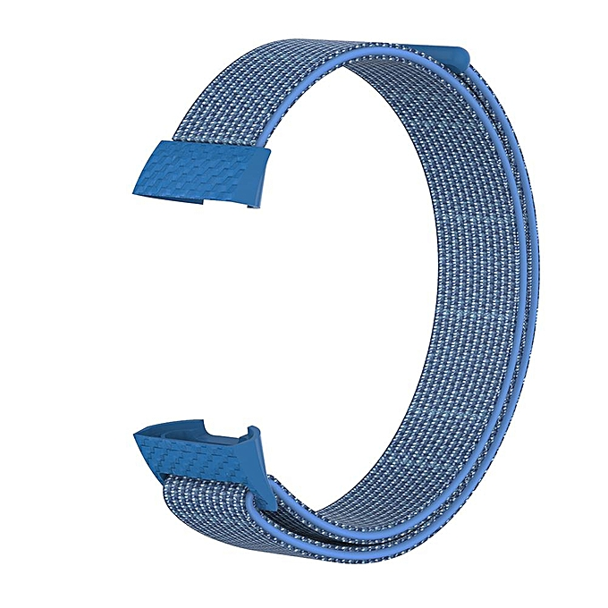 For Fitbit Charge3 Nylon Loopback Strap Charge 3 Smart Bracelet Woven Cloth  Sports Replacement Wristband Drop Shipping FCJMALL
