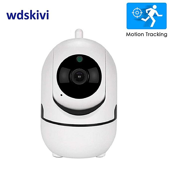wdskivi Auto Track 1080P IP Camera Surveillance Security Monitor WiFi  Wireless Mini Smart Alarm CCTV Indoor Camera YCC365 Plus(1080P Mini Camera)