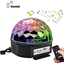 RGB Bluetooth LED Disco Ball Light AC85-265V US Plug - Colormix