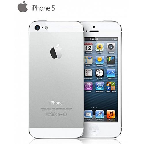 Apple iPhone 5 - 16G+1G - 4.0 inch- 8MP 99% new Smartphones Silver ... e41c15c1e7