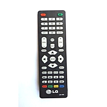 LG LED TV UNIVERSAL Remote Control - Black