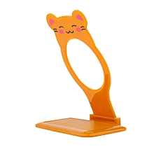 Durable Lovely Animal Mobile Phone Holder Folding Wall Charging Stand Rack