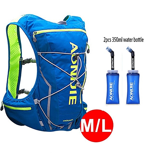 93a1d12521 Generic AONIJIE 5L Outdoor Backpack Marathon Vest Pockets Bag for Running  Rucksack Cycling Safety Gear With 2L Hydration Bladder(Style 9)