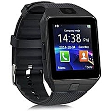 dda84936a DZ09 Bluetooth Smart Watch - 128MB ROM - 64MB RAM - Black