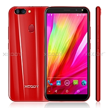 "6.0"" 8 MP un-locked Smartphone Android 5.1 Mobile Phone 16GB Dual SIM 4Core-red"