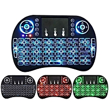 Mini i8 Wireless Remote Control Keyboard 2.4GHz English letters Air Mouse Touchpad For Android Tv Box Notebook Tablet Pc