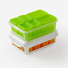 Xiaomi Silicone Food Container Lunch Portable Eco-friendly Compartment Food Snack Storage Box #1