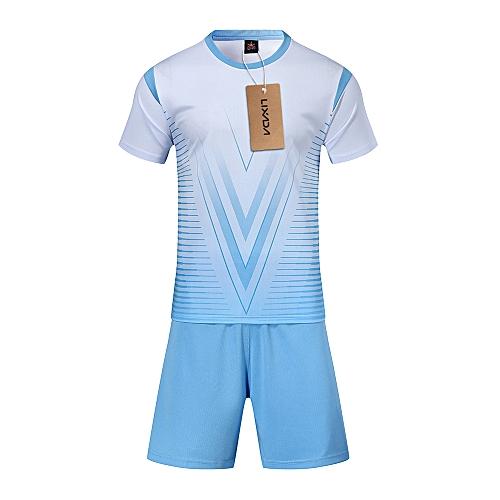 best loved b63a5 b4a82 Lixada Professional Soccer Jerseys Set Adult/Kids Breathable Soccer Set  Soccer Jerseys Uniforms Children Football Kit Shirt Tracksuit