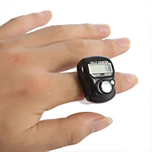 Mini 5-Digit LCD Electronic Digital Golf Finger Hand Held Ring Tally Counter