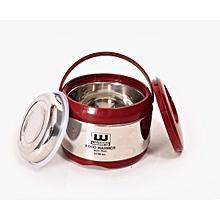 High Quality Steel Hot Pot 2in1 duplex- 2.7L-Silver