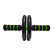 Double-wheeled Abdominal Body Muscle Exerciser Roller Gym Fitness Equipment