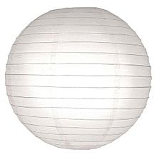 Chinese Paper Lanterns / Ball Lampshades - 25cm white