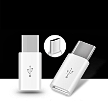 Android Micro USB To Type-C Portable Connector Adapter Converter USB Data Phone Charger
