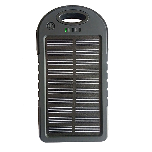 Hiamok_LED Outdoor Travel Dual USB Solar Mobile Phone Power Bank Case Charger DIY Kit