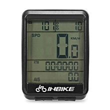 "Waterproof 2.1"" LCD Cycling Bike Bicycle Computer Bicycle Speedometer Odometer Green-"