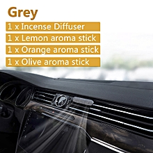 GUILDFORD Air Freshener Car-styling Alloy Perfume Car Incense Diffuser Air Freshener Vent Air Conditioning Clip