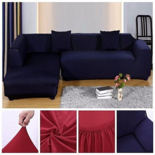L Shape Stretch Elastic Fabric Sofa Cover Pet Dog Sectional Corner Couch Usa
