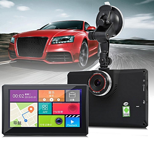 Generic 902 7 inch Android 4.4 Car Tablet GPS 170 Degree Wide Angle on