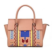 Light Brown Ladies Casual Work Dinner Handbag